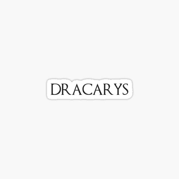 Plain Dracarys Sticker