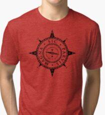 Uncharted Adventure (black) Tri-blend T-Shirt