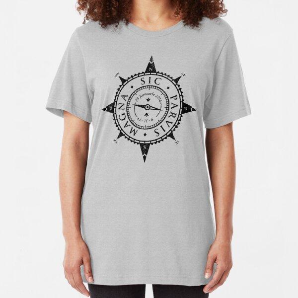 Uncharted Adventure (black) Slim Fit T-Shirt