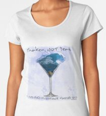 Shaken Not Beat: I Survived Hurricane Harvey Women's Premium T-Shirt