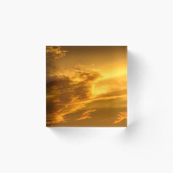 Phoenix Cloud Acrylic Block