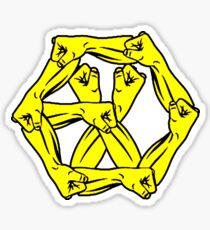 EXO - POWER OF MUSIC Red Force Logo Sticker