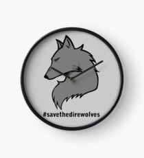 #SavetheDirewolves Clock