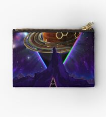 Summon the Future - Synthwave Blade Runner Future Studio Pouch