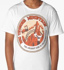 Big Thunder Mountain (orange and yellow) Long T-Shirt