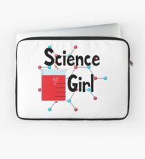 Science Girl Laptop Sleeve