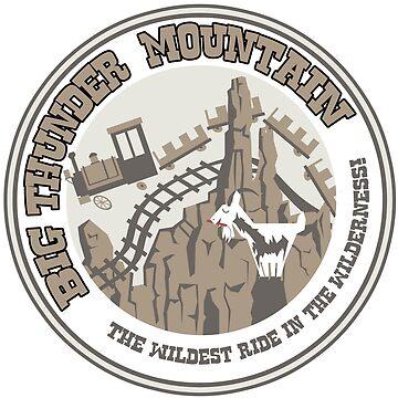 Big Thunder Mountain (gray) by clockworkmonkey