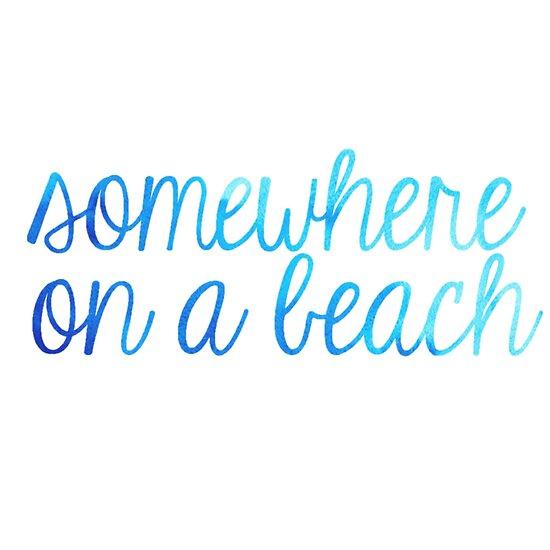 b40a8c65a11095 Somewhere on a Beach Blue Ombre