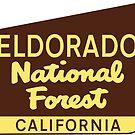 Eldorado National Forest California Camping Yosemite Park Lake Tahoe Alpine Meadows by MyHandmadeSigns
