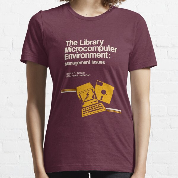 Library Microcomputer Essential T-Shirt