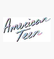 AMERICAN TEEN IRIDESCENT Photographic Print