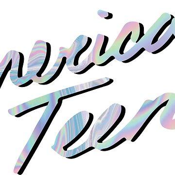 AMERICAN TEEN IRIDESCENT by annacush