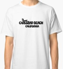 Carlsbad Beach Surfing Classic T-Shirt