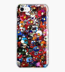 Takashi Murakami - There Are Little People Inside Me iPhone Case/Skin