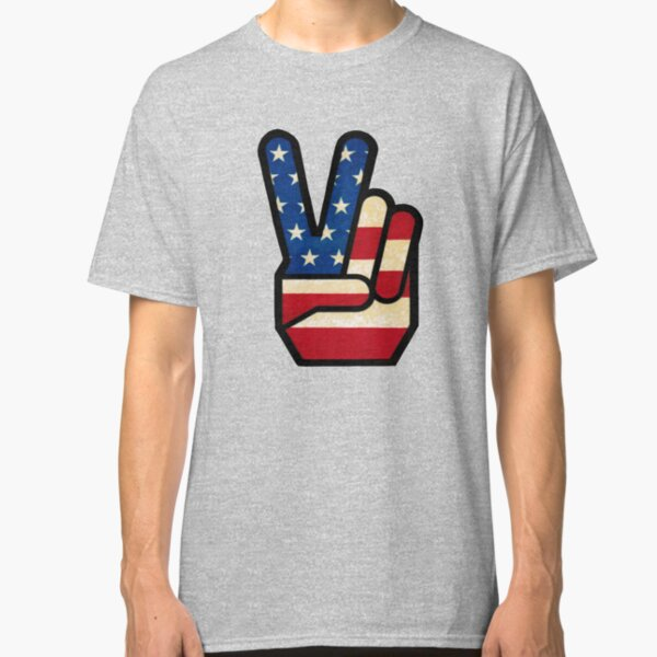 Chevy Chevrolet with American Flag Distressed Vintage Faded Print on a Black on a Black T Shirt