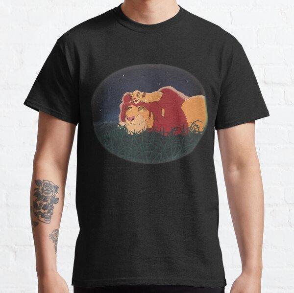 El Rey León: Mufasa y Simba Camiseta clásica