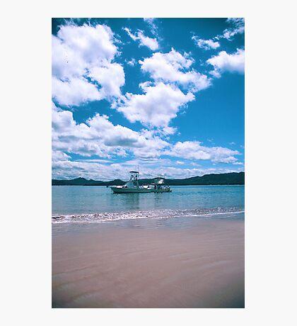 Bahía Pirata, Costa Rica, Fisherboats Photographic Print