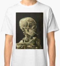 Vincent van Gogh - Head of a Skeleton with Burning Cigarette (1886)		 Classic T-Shirt