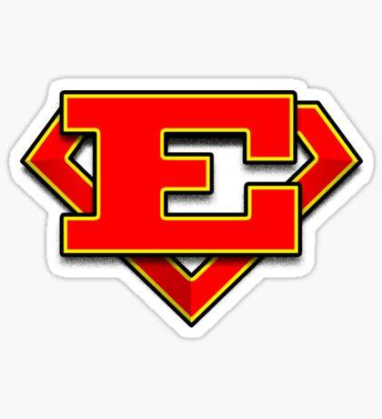 E Power Symbol Sticker