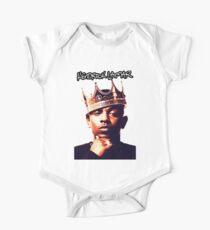 Kendrick Lamar Rapper Weiß 01 Baby Body Kurzarm