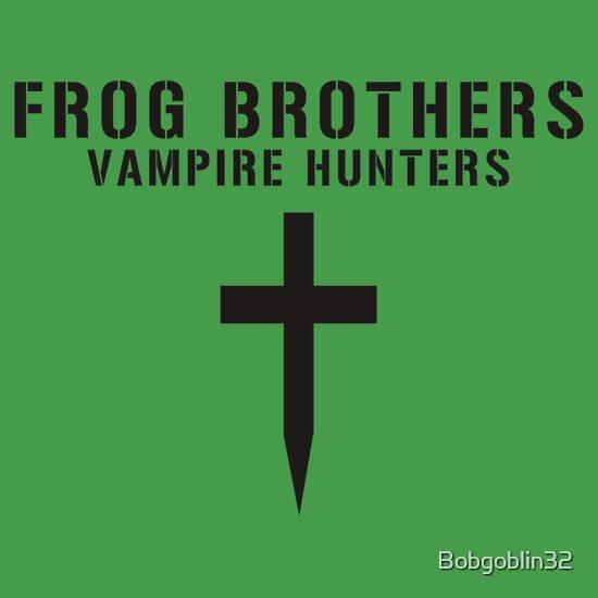 TShirtGifter presents: Frog Brothers Vampire Hunters