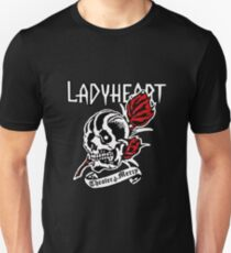 Lady Heart featuring Vince Vincente from Supernatural Unisex T-Shirt