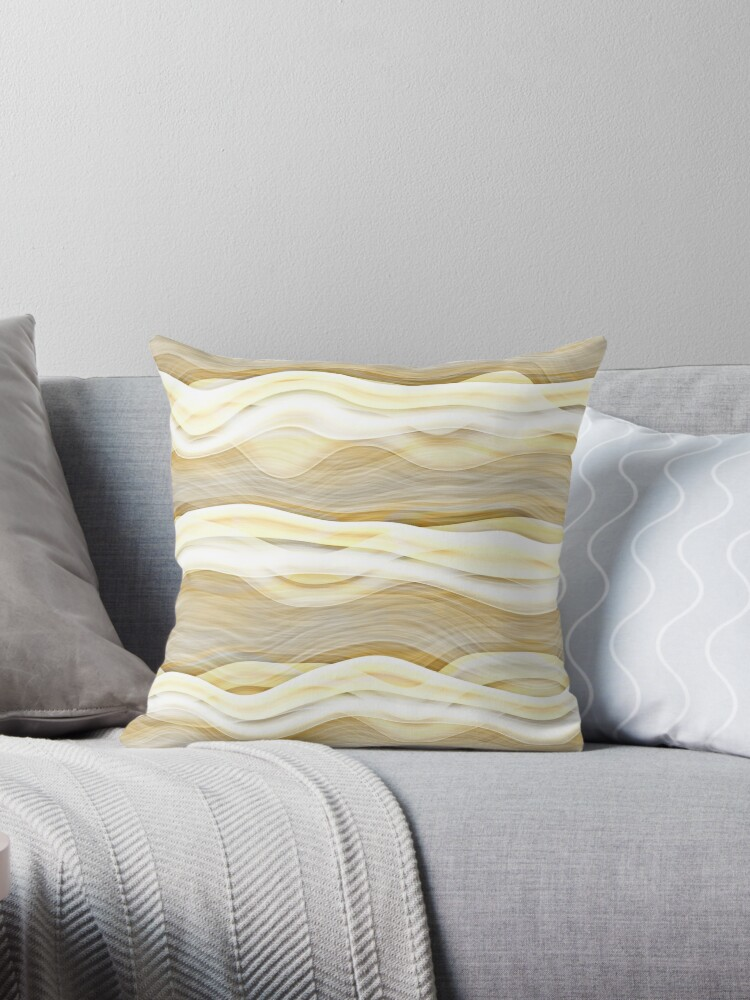 Cool Abstract Retro Artistic Waves Pattern by FudgePudge