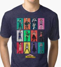 My Hero Academia Class 1A Tri-blend T-Shirt