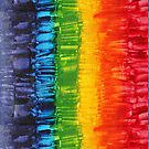 Energetic Abstractions - Chakra Sparkles #2 by Rosetta Elsner ARTist