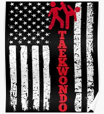 Flag Taekwondo Poster