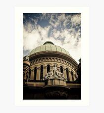 Queen Victoria Building  Art Print