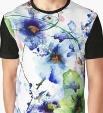 Seamless pattern with wild flowers Graphic T-Shirt
