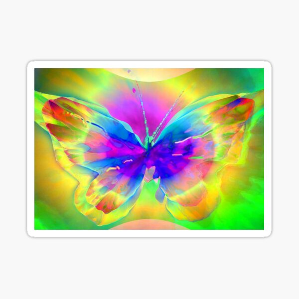 """Butterfly 1 (from """"Butterflies"""" collection) Sticker"""