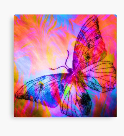 "Butterfly 3 (from ""Butterflies"" collection) Canvas Print"