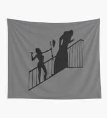 Buffy VS Count Orlok! Wall Tapestry