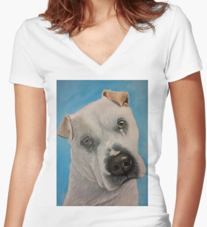 Meet Flash Women's Fitted V-Neck T-Shirt