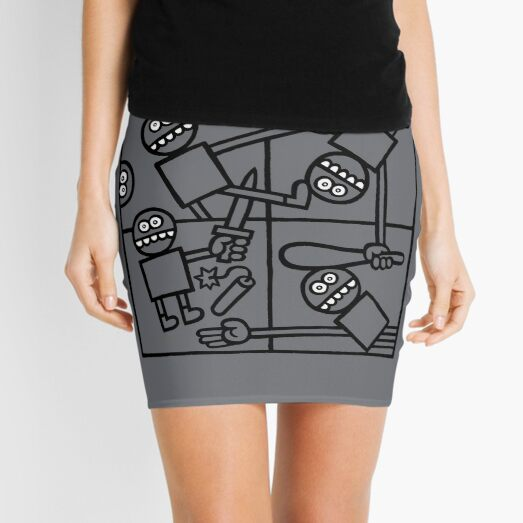 Circle of Life Mini Skirt