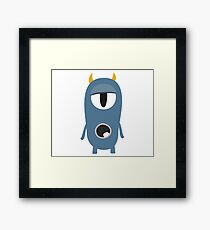 Frank the Sleepyhead Framed Print