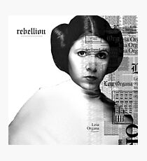 Rebellion Photographic Print