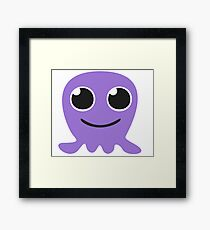 Melly the cute Jellyfish Framed Print