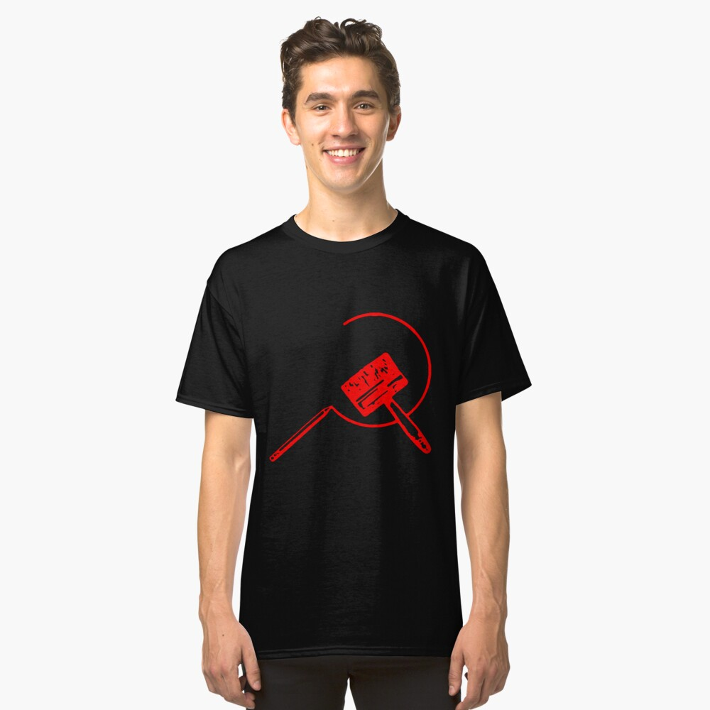 Art Community (Black and Red) Classic T-Shirt