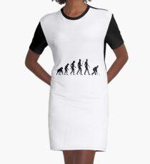 bowling Graphic T-Shirt Dress