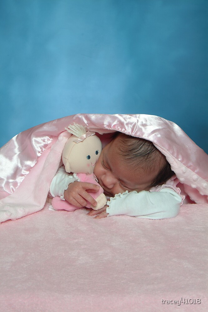 KYHIA SLEEPING. ONE MONTH OLD by tracey41018