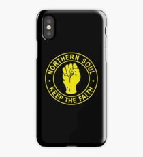 Northern Soul Badge iPhone Case