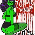 Zombie Pinup #1 by deerokone