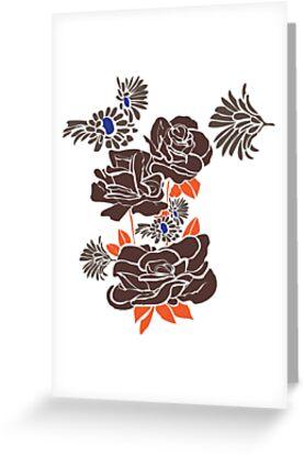 dark roses by zeljkica