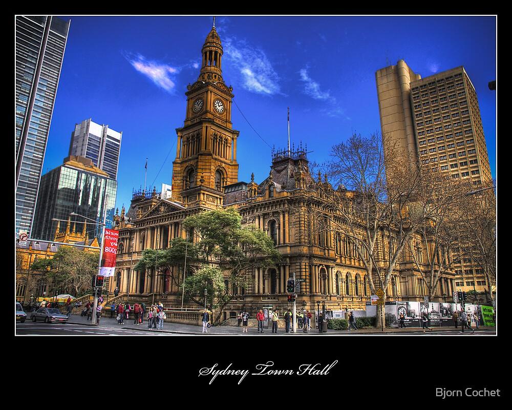 Sydney Town Hall by Bjorn Cochet