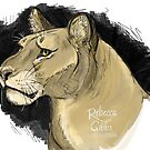 Lovely Lioness by Rebecca Gibbs