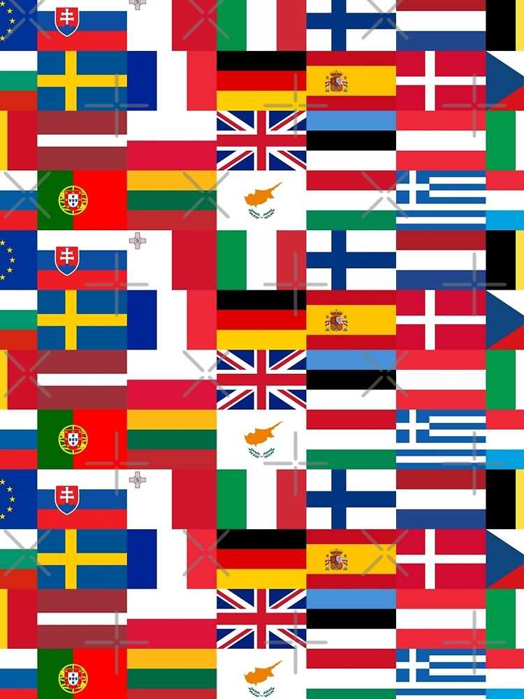 Europe Flags | European Union | Globetrotter by koovox