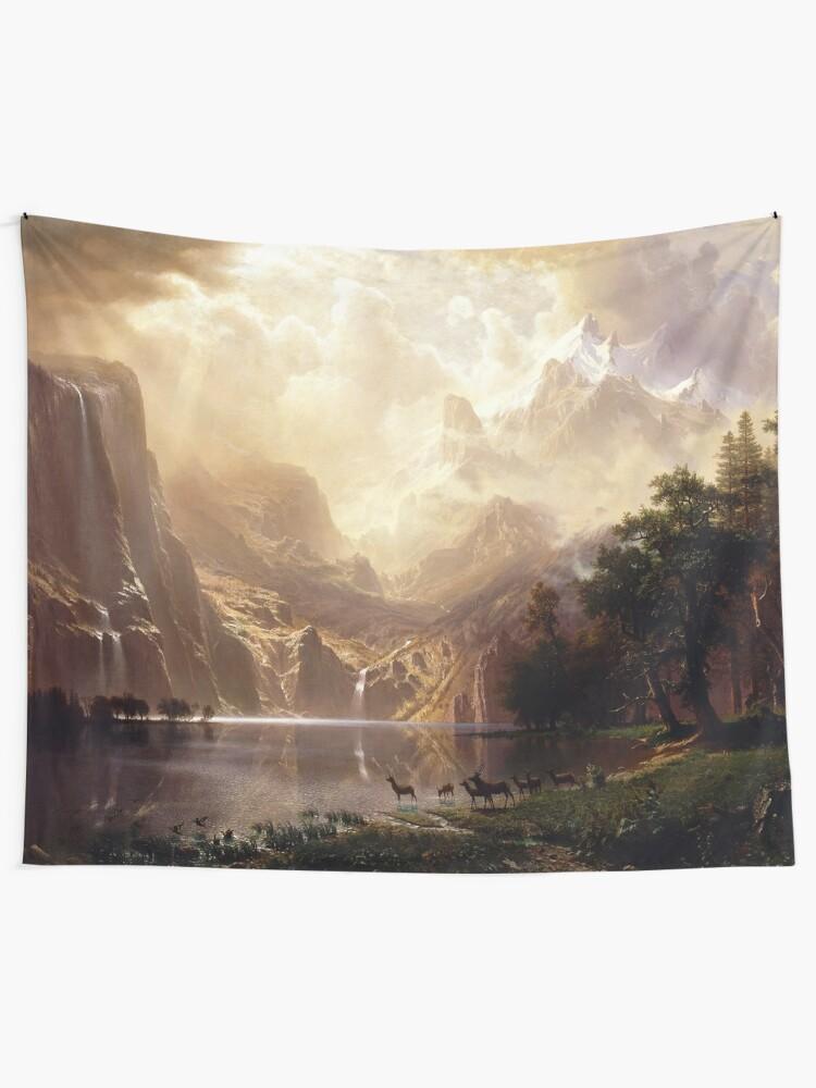 Alternate view of Among the Sierra Nevada, California Tapestry
